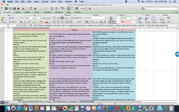 CCSS Math Standards at a Glance  Middle School