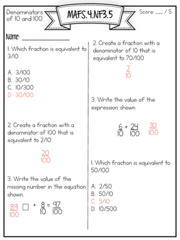 Smarter Balanced, PARCC, & AIR Prepared {Numbers and Operations-Fractions}