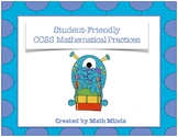 CCSS Mathematical Practices: Student Friendly Language
