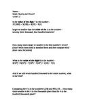 CCSS Module 1, Ten Minute Math 3