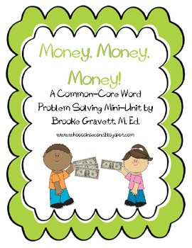 CCSS Money Problem-Solving Unit
