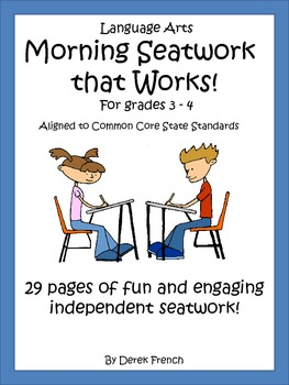 CCSS Morning Seatwork that Works, Grades 3-4
