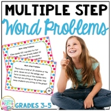 DOLLAR DEALS! Multiple Step Word Problems -  ADD SUBTRACT MULTIPLY DIVIDE