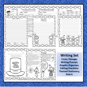 "CCSS ""NEW YEAR"" TEXT-BASED WRITING ASSIGNMENT"