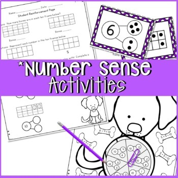 COMPOSING AND DECOMPOSING NUMBERS WORKSHEETS, ACTIVITIES, GAMES, CENTERS,