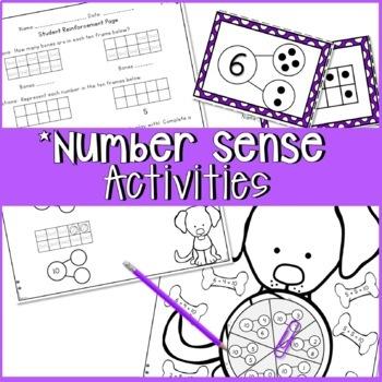 CCSS First Grade NUMBER SENSE PET SHOP THEME 2 WEEK UNIT