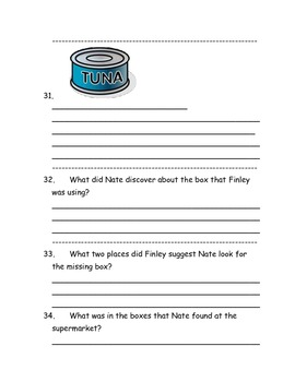 CCSS Text Based Questions Nate the Great Goes Down in the Dumps