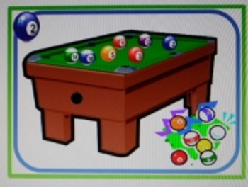 CCSS Number Decomposition & Fact Family Pool Table Task Cards