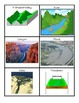 CCSS (Ohio) Science - Vocabulary Match Cards for Landforms