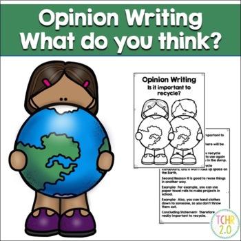 Opinion Writing Earth Day