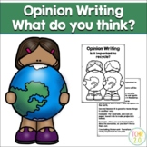Opinion Writing Prompt Earth Day