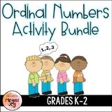 Ordinal Numbers Activity Bundle