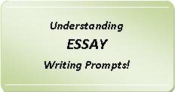 CCSS & PARCC-Aligned: Understanding Essay Writing Prompts!