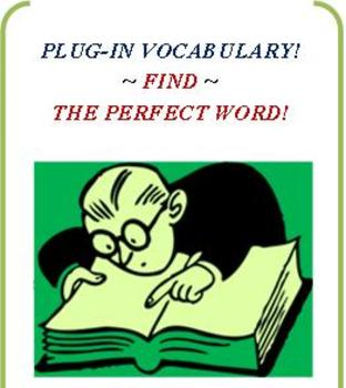 CCSS: PLUG-IN VOCABULARY & MIMICRY SENTENCE WRITING!