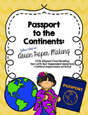 CCSS Passport to the Continents: Asia - Culture Add on Text, questions, activity
