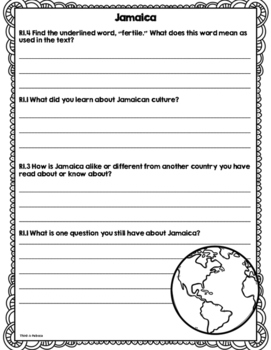 CCSS Passport to the Continents: North American Countries Vol. 1 Add-On
