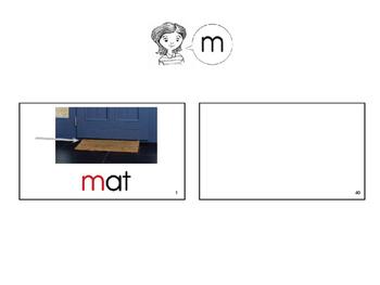 CCSS Phonics Lesson Blending with M,A,T,D Engage NY Kindergarten Unit 3 Lesson 5