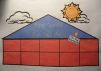 CCSS Place Value Dog House Ten Frame Math Game and Center Activity