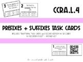 CCSS Prefixes and Suffixes: Task Cards with QR Codes