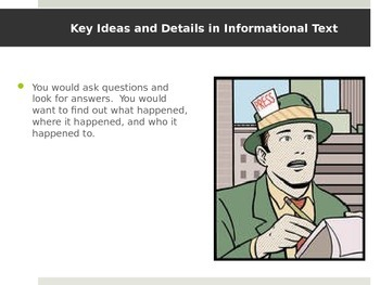 CCSS RI.3 - Key Ideas in Informational Text (RI.3.1, RI.3.2, RI.3.3)