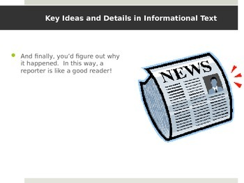CCSS RI.3 - Key Ideas in Informational Text (RI.3.1, RI.3.2, RI.3.3)