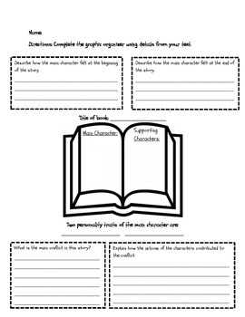 CCSS RL.3.3 Literacy Small Group Activity - Character Trai