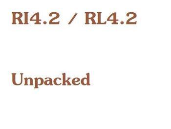 CCSS RL.4.2 / RI.4.2 Unpacked Resource