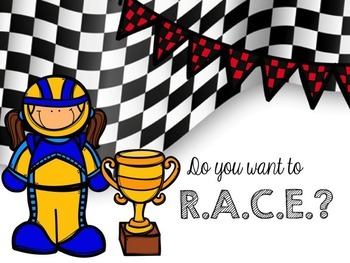 CCSS Race Strategy Powerpoint to teach the RACE strategy