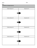 CCSS Reading Anchor Standard 1 Graphic Organizer