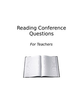 CCSS Reading Conference Questions
