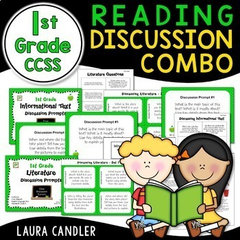 Reading Discussion Combo - 1st Grade CCSS