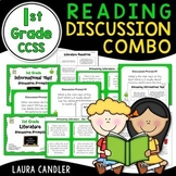 1st Grade CCSS Reading Discussion Bundle ( Ideal for ESL)