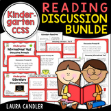 Kindergarten CCSS Reading Discussion Bundle ( Ideal for ESL)