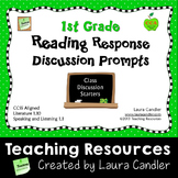 1st Grade CCSS Reading Question Prompts for Whole Group Di