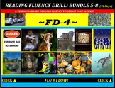 CCSS: Reading Fluency Drills 5-8. BUNDLED with Pre-Reading Prediction Graphics!