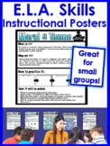 CCSS Reading Posters - Reading Skills/Strategies