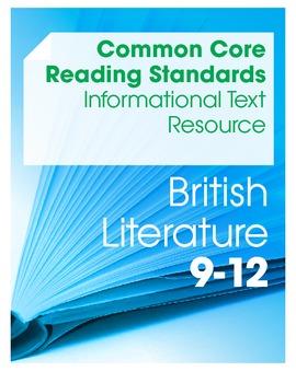 CCSS Reading Standards: Informational Text Resource--Briti