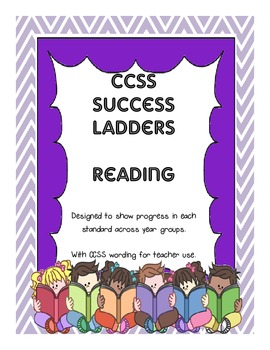 CCSS Reading Standards Success Ladders