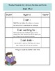CCSS Reading Standards Success Ladders I Can Statements
