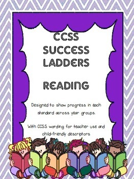 CCSS Reading Success Ladders Bundle