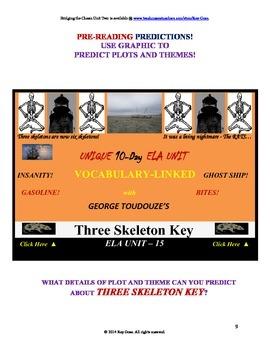 CCSS: Reading, Writing, & Vocab  Unit-15: Supports Three Skeleton Key!