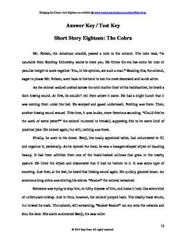 CCSS: Reading, Writing, & Vocab  Unit-18: Supports Rikki Tikki Tavi!