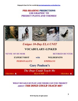CCSS: Reading, Writing, & Vocab  Unit- 7: Supports The Dog