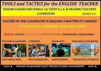 CCSS/PARCC ELA Teaching Resource Text: Research-Based (35 Items - $120 value)