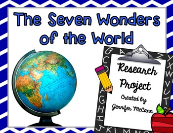 CCSS Research & Informational Writing Project (Topic: 7 Wonders of the World)
