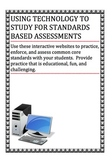 10 CCSS Resources for Standards Based Assessments: K-8