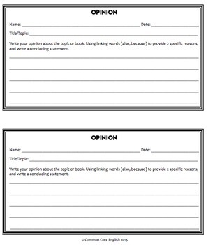 Reading & Writing Activities for ANY Text & Topic: CCSS Grades K-2