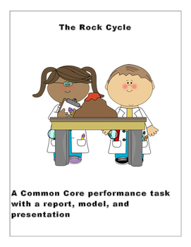 CCSS Rock Project with Report, Model and Presentation