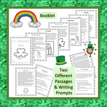 """ST. PATRICK'S DAY & LEPRECHAUNS"" TEXT-BASED WRITING ASSIGNMENT"