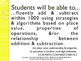 CCSS SWBAT Learning Goals Posters Grade 3 Math: Number Base 10